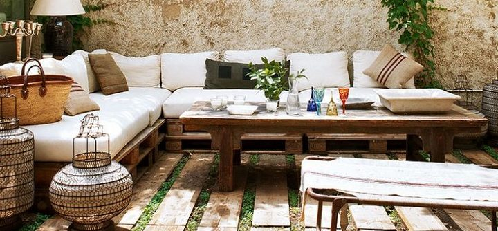 decorate the terrace