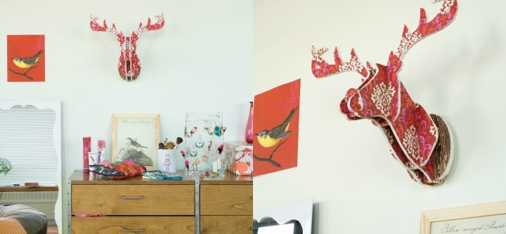 DIY Animal Heads
