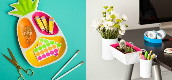 crafts to keep your office tidy