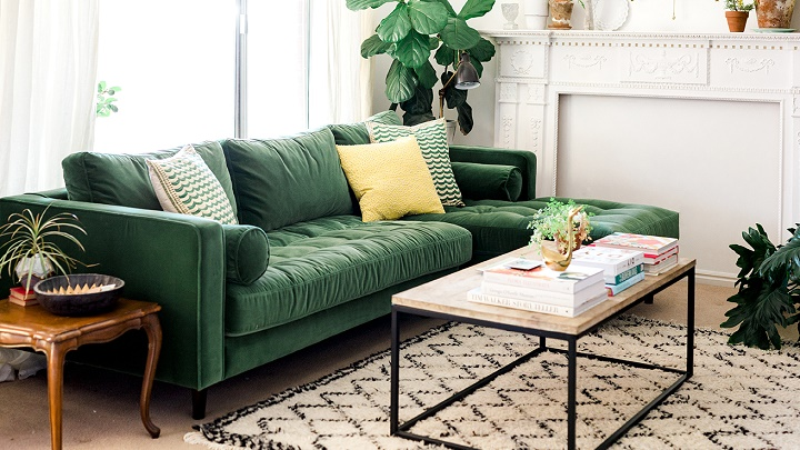 Lounges in green
