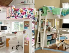 bunk beds in the bedroom