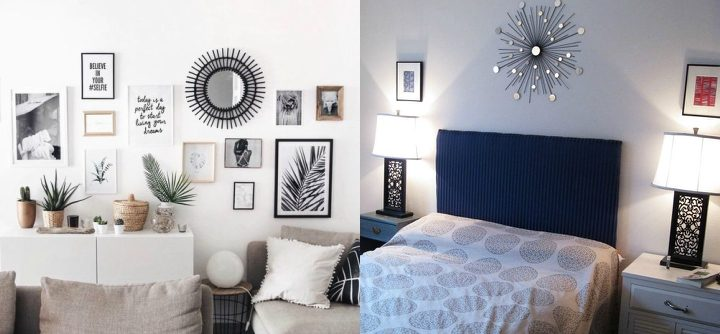 Decorating with Sun Mirrors