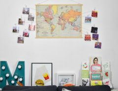 DIY photos decoration