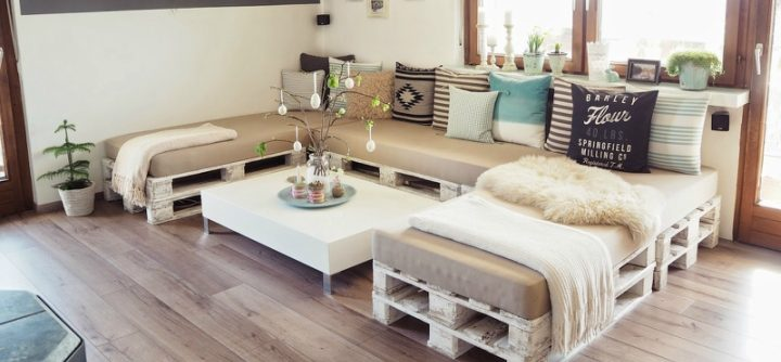 sofa with pallets