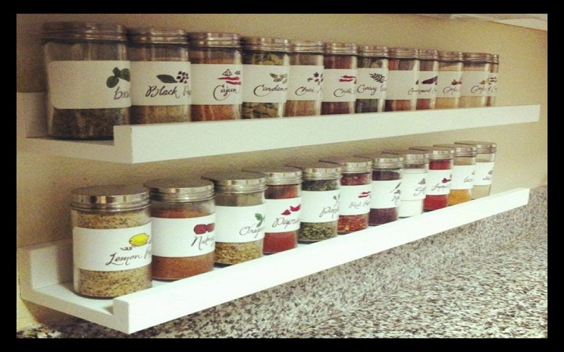 store spices in the kitchen