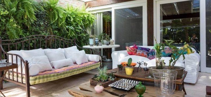 the indoor garden at home