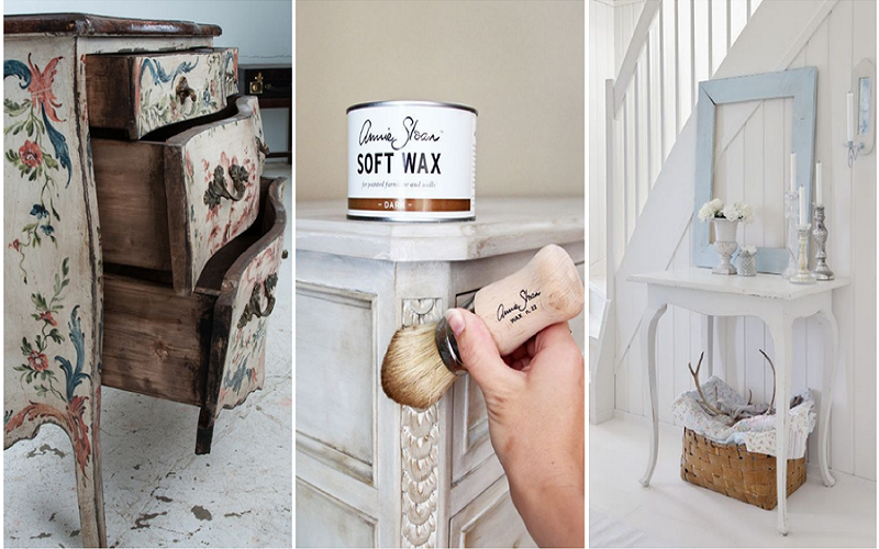 restore an old piece of furniture