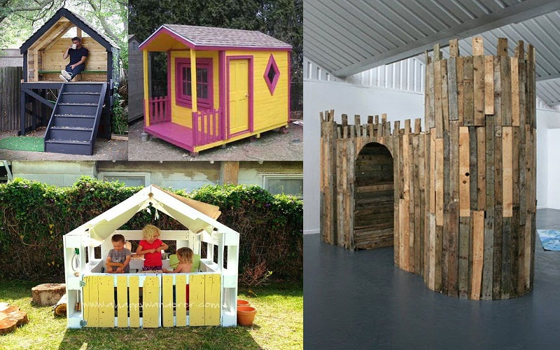 top children's pallet houses