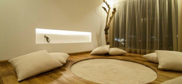 Meditation spaces at home