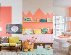 orange home decorations