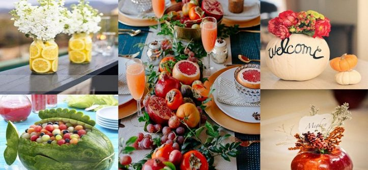 Fruits Decoration 7 Refreshing Decorating Ideas With Fruits
