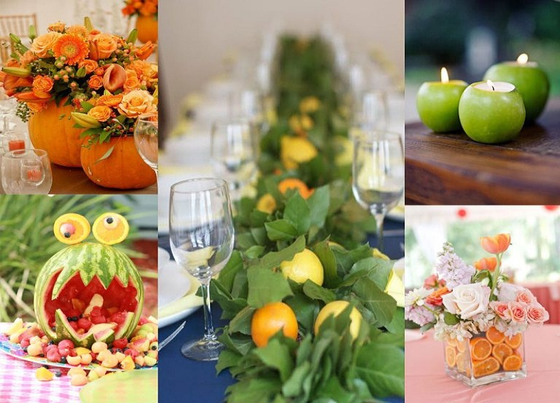 fruits decoration idea