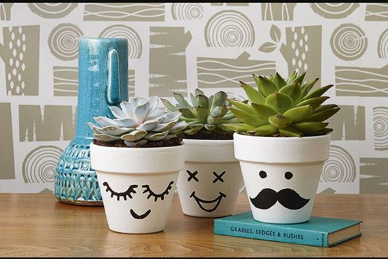 Put a face to each plant