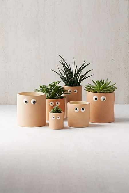 Stick some eyes in your pots