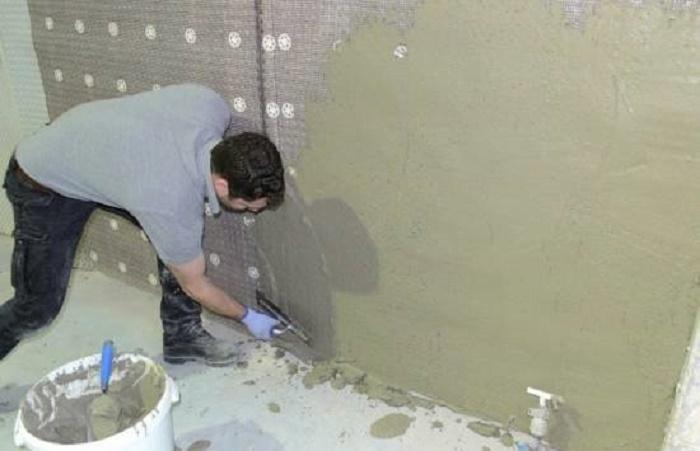 Treat damp walls internally