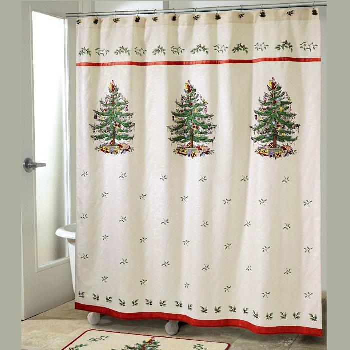 Curtain for christmas