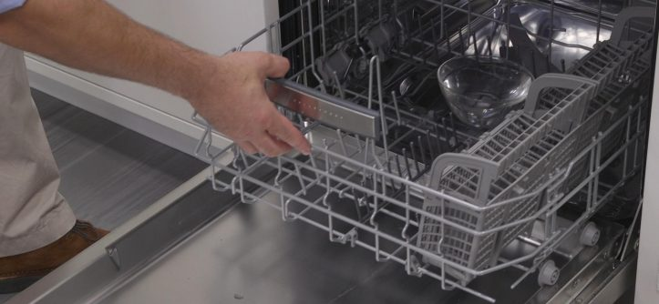 how do you get rid of bad smell in dishwasher