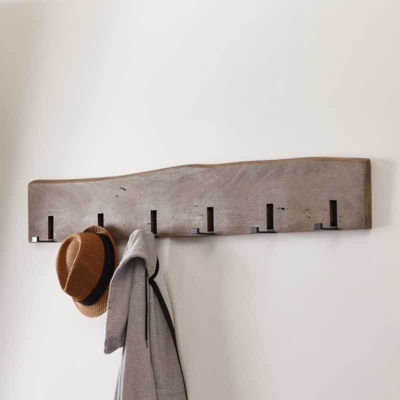how to build a coat rack