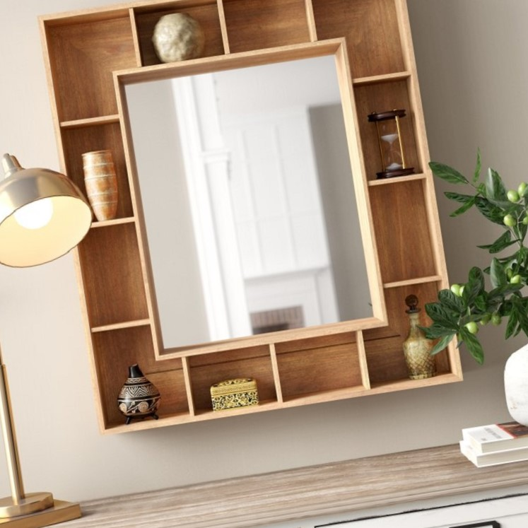 Mirrors and Shelves