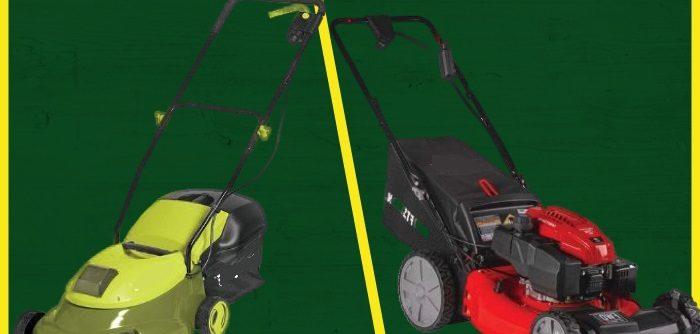 Self-Propelled or Push Lawn Mower