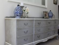 Distress Furniture with Chalk Paint