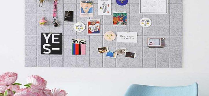 Home Office Needs a Felt Board
