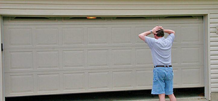 garage door won't open