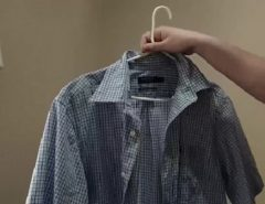 How to starch clothes