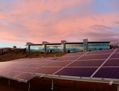 How do solar panels reduce global warming?